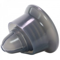 Universal Silicone Pump Sleeve in Smoke